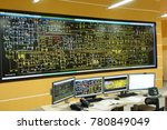 power plant control room | Shutterstock . vector #780849049