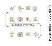 presentation business... | Shutterstock .eps vector #780885544