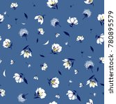 trendy  floral pattern in the... | Shutterstock .eps vector #780895579
