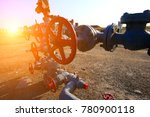 pipes and valves | Shutterstock . vector #780900118