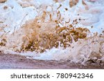 ocean sand and waves | Shutterstock . vector #780942346