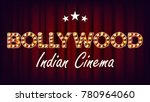 bollywood indian cinema banner... | Shutterstock .eps vector #780964060