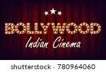 bollywood indian cinema banner... | Shutterstock .eps vector #780964060