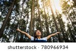 relaxing with nature  beautiful ... | Shutterstock . vector #780966934