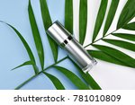 cosmetic bottle containers with ...   Shutterstock . vector #781010809