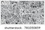 sao paulo brazil city map in... | Shutterstock .eps vector #781050859