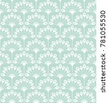 floral pattern. wallpaper... | Shutterstock .eps vector #781055530
