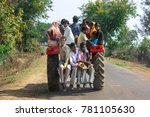 madhya pradesh india january 14 ...   Shutterstock . vector #781105630