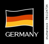 germany vector flag | Shutterstock .eps vector #781124734