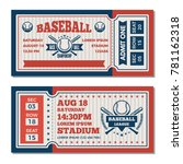 tickets design template at... | Shutterstock .eps vector #781162318