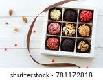 handmade brazilian candy | Shutterstock . vector #781172818