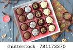 handmade brazilian candy | Shutterstock . vector #781173370