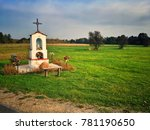 Small Wayside Shrine In Masovia ...