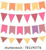 holiday celebration background... | Shutterstock .eps vector #781190776