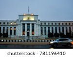 federal reserve building at... | Shutterstock . vector #781196410