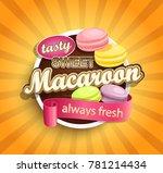 symbol of sweet  always fresh... | Shutterstock . vector #781214434