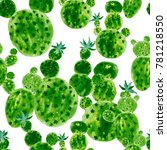 watercolor seamless pattern... | Shutterstock . vector #781218550