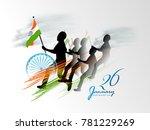 vector illustration of republic ... | Shutterstock .eps vector #781229269