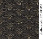 vector abstract seamless wavy... | Shutterstock .eps vector #781238818