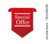 special offer red label | Shutterstock .eps vector #781248358