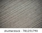 concrete background with lined... | Shutterstock . vector #781251790