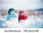 Two Little Snowmen The Girl An...