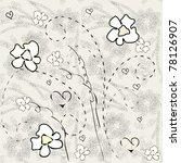 floral seamless pattern | Shutterstock .eps vector #78126907
