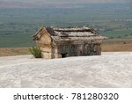 Hierapolis Antique Tomb On The...