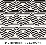vector seamless pattern. modern ... | Shutterstock .eps vector #781289344