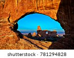View Of Turret Arch Through...