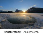 sunrise at vermillion lakes... | Shutterstock . vector #781298896