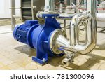 water centrifugal pump and...