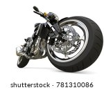 pitch black modern sports... | Shutterstock . vector #781310086