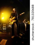 Small photo of BARCELONA - FEB 9: Blossoms (pop rock band) perform in concert at Razzmatazz Club on February 9, 2017 in Barcelona, Spain.