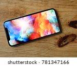 bangkok thailand   iphone x... | Shutterstock . vector #781347166