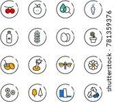 line vector icon set  ...   Shutterstock .eps vector #781359376