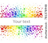 colorful abstract background of