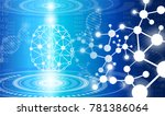 abstract background technology... | Shutterstock .eps vector #781386064