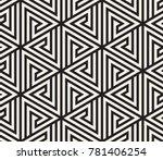 vector seamless pattern. modern ... | Shutterstock .eps vector #781406254