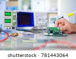 develop of electronics device | Shutterstock . vector #781443064