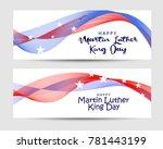 header or banner of martin... | Shutterstock .eps vector #781443199