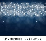 illustration of blue background ... | Shutterstock . vector #781460473