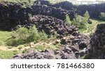 Small photo of Iceland geological formation