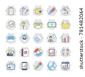 business vector icons 2  | Shutterstock .eps vector #781482064