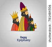 epiphany  epiphany is a... | Shutterstock .eps vector #781484506