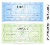 check  cheque   chequebook... | Shutterstock .eps vector #781526860