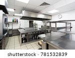 modern kitchen equipment in a... | Shutterstock . vector #781532839