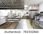 modern kitchen equipment in a... | Shutterstock . vector #781532860