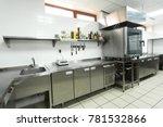 modern kitchen equipment in a...   Shutterstock . vector #781532866