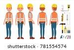electrician vector. different... | Shutterstock .eps vector #781554574